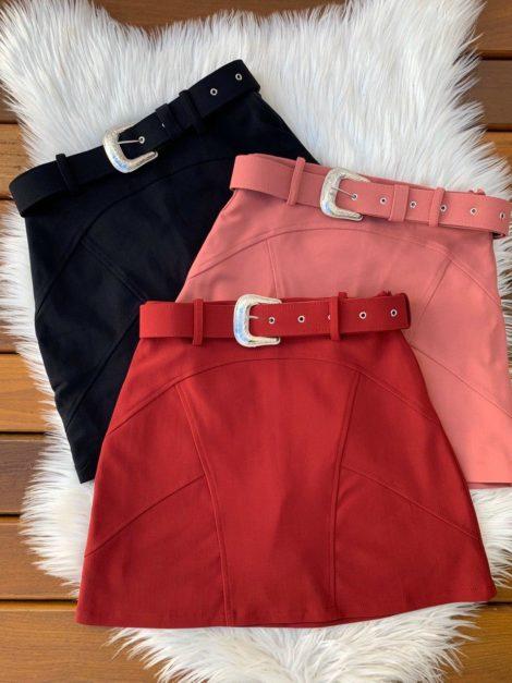 semigualmodas_com_br short saia com cinto encapado e fivela