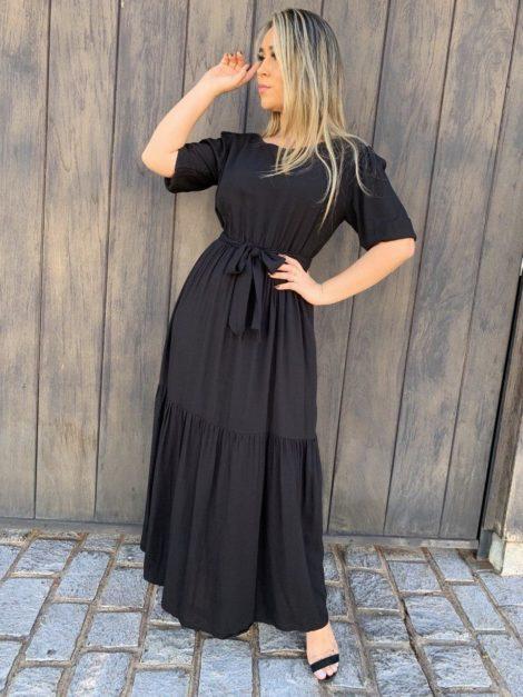 semigualmodas_com_br vestido longo com manga