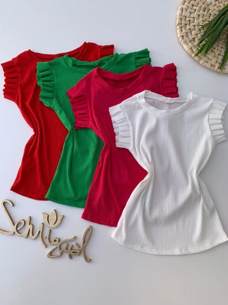 semigualmodas_com_br blusa canelada manga babado em cores