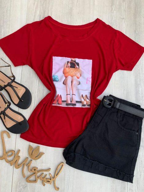 semigualmodas_com_br t shirt sapato vermelho