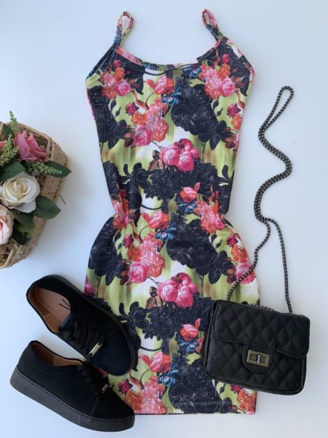 semigualmodas_com_br vestido canelado jardim