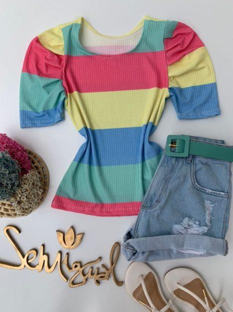semigualmodas_com_br blusa colors manga princesa