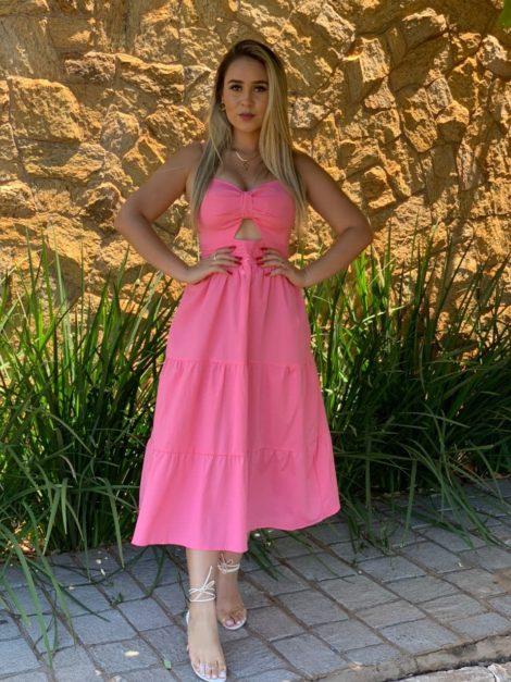 semigualmodas_com_br vestido sara com bojo rosa