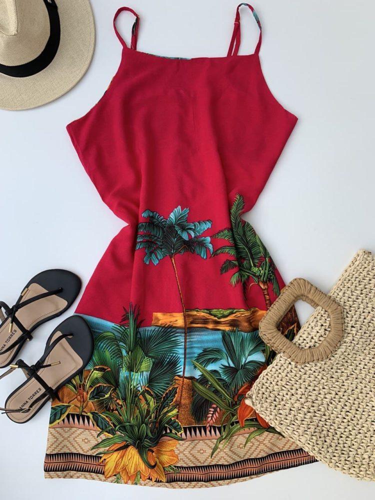 semigualmodas_com_br vestido viscose lagoa pink