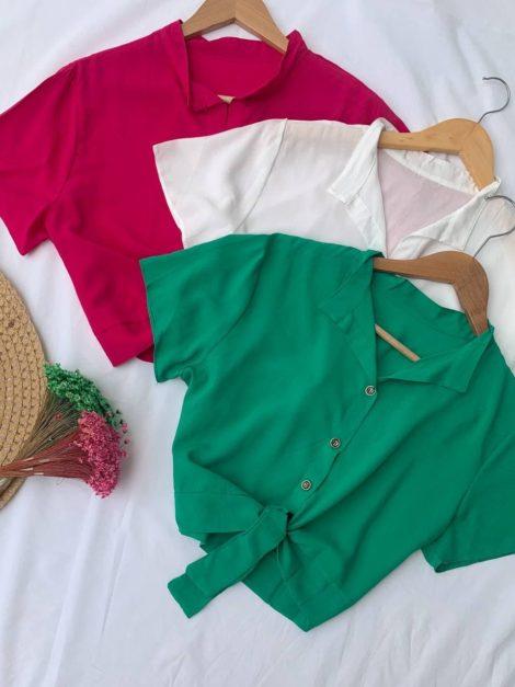 semigualmodas_com_br cropped camisa com amarracao