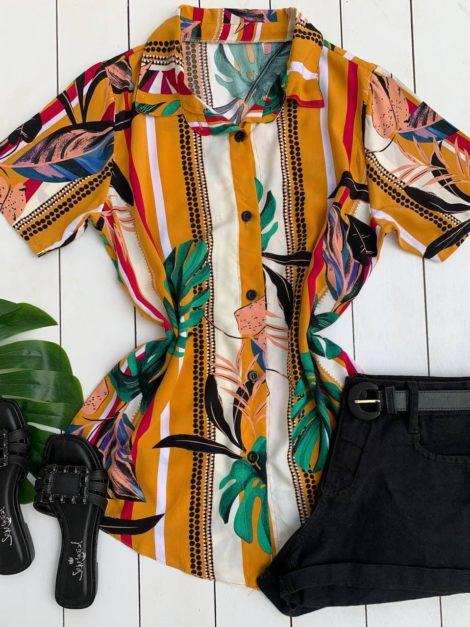 semigualmodas_com_br camisa tropical folhagem