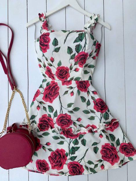 semigualmodas_com_br vestido flowers pink com bojo