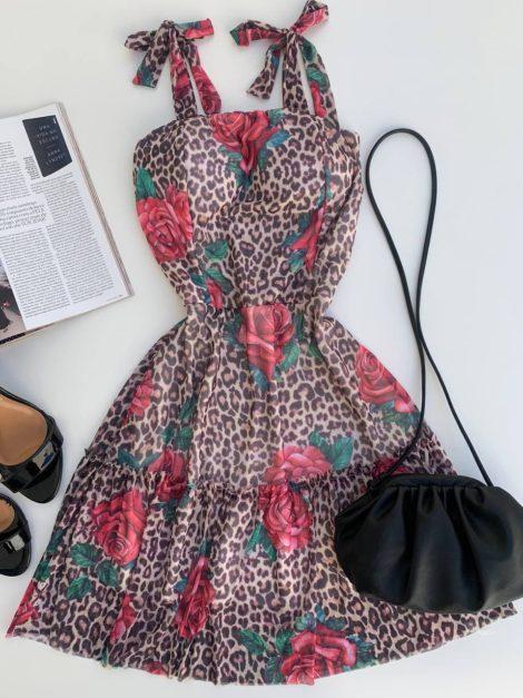 semigualmodas_com_br vestido tule animal print