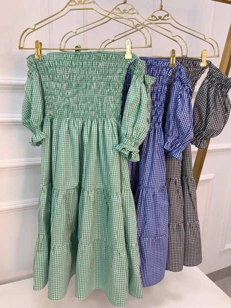 semigualmodas_com_br vestido lastex listrado azul bebe copia