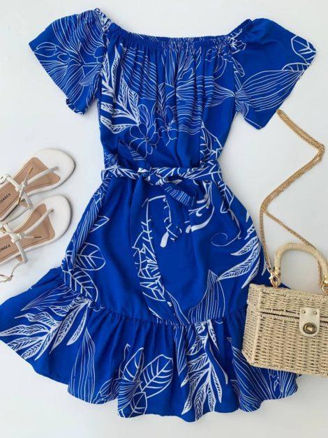 semigualmodas_com_br vestido viscose azul
