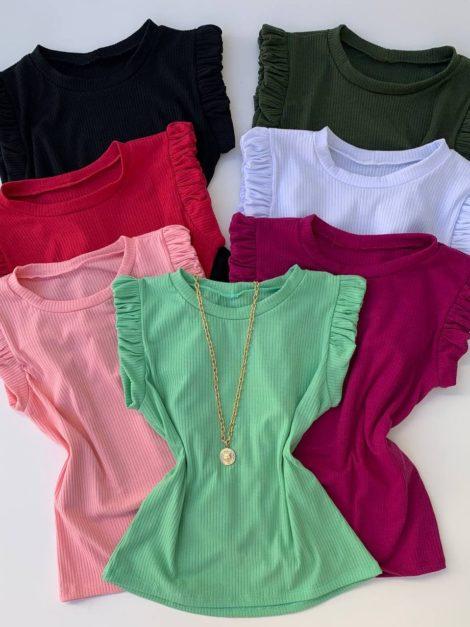 semigualmodas_com_br blusa canelada franzida