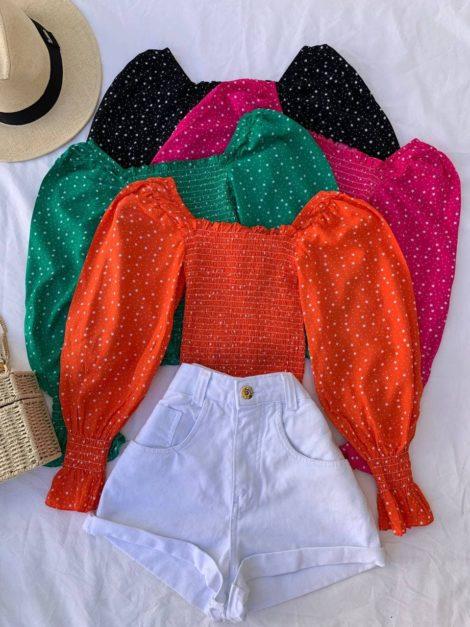 semigualmodas_com_br blusa lastex estrelar