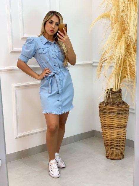 semigualmodas_com_br vestido jeans