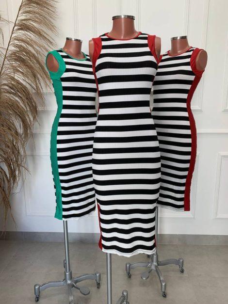 semigualmodas_com_br vestido listras canelado 1