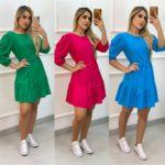 semigualmodas_com_br vestido viscose elegance