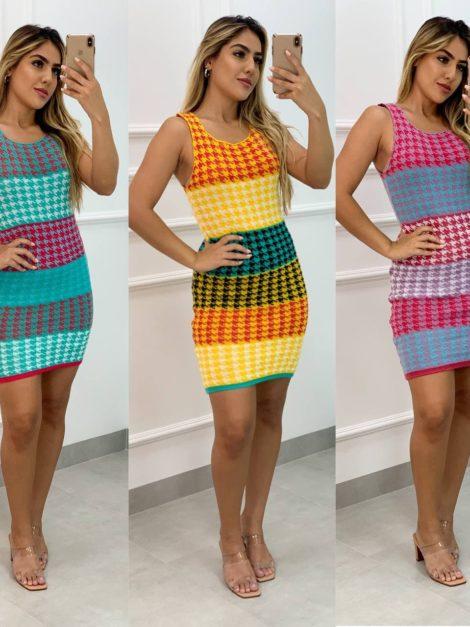semigualmodas_com_br vestido zig zag tricot