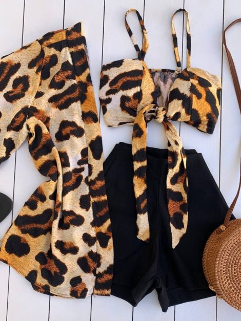 semigualmodas_com_br conjunto kimono e top animal print