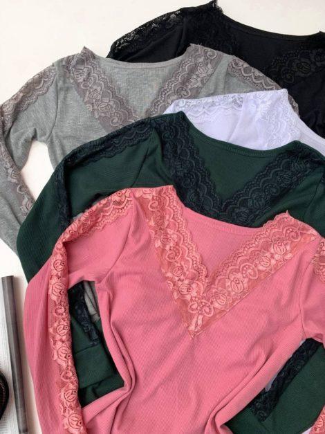 semigualmodas_com_br blusa canelada detalhe em renda 1