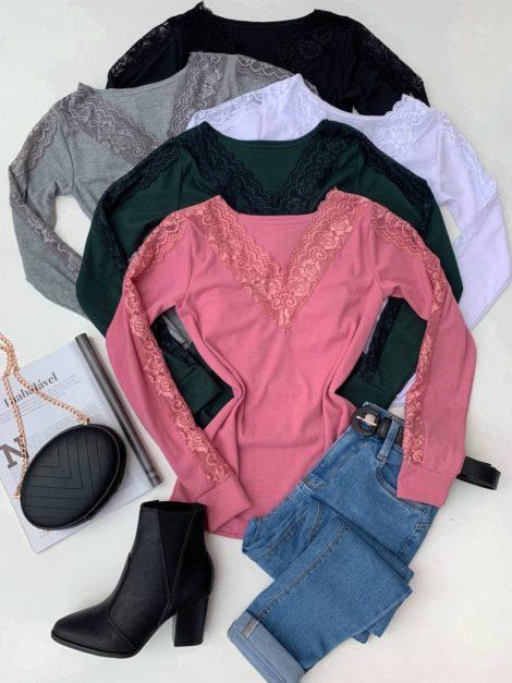semigualmodas_com_br blusa canelada detalhe em renda