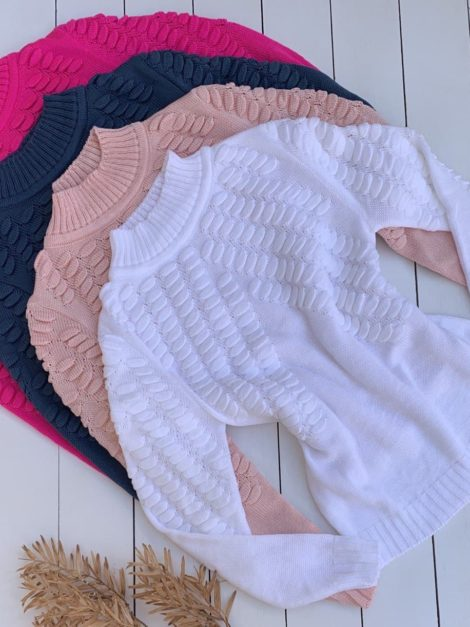 semigualmodas_com_br blusa tricot escamas