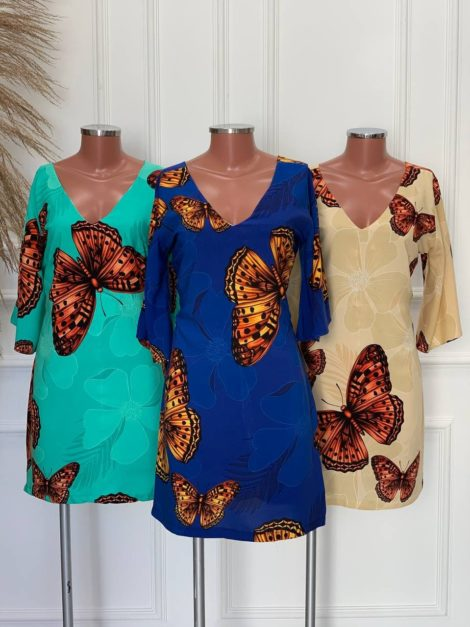 semigualmodas_com_br vestido viscose caju copia
