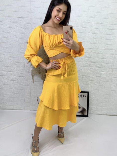 semigualmodas_com_br conjunto cropped saia 1