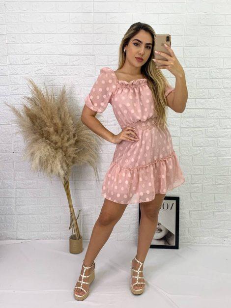 semigualmodas_com_br vestido poa
