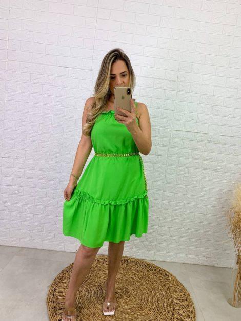 semigualmodas_com_br vestido verde com bojo